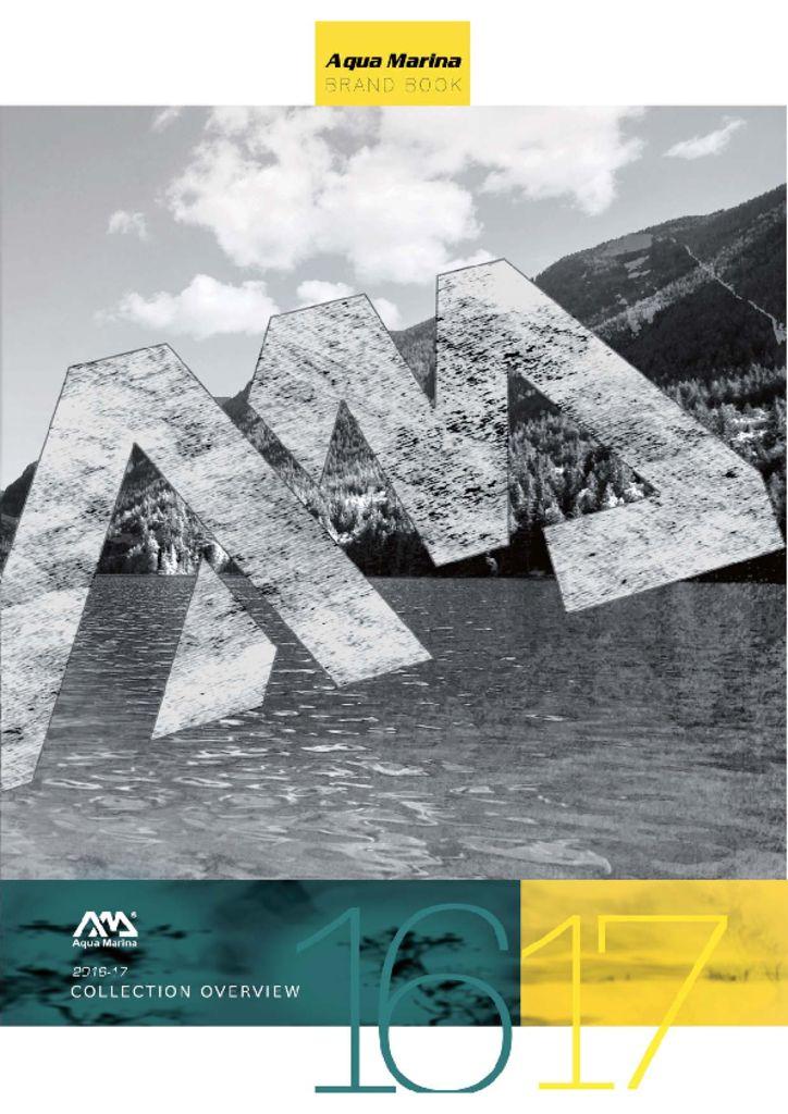 Aqua Marina Catalogue 2020