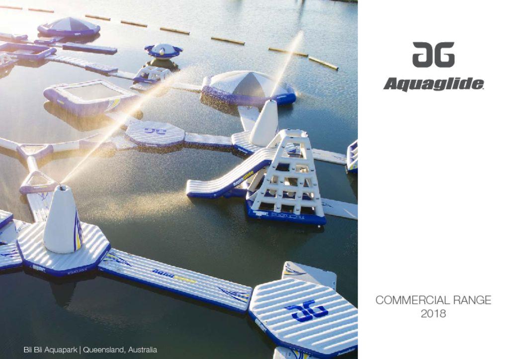 Aquaglide Aqua Parks Catalogue 2020