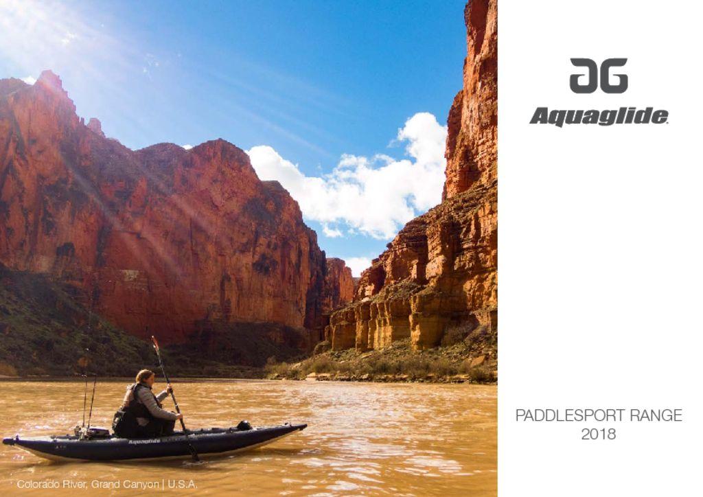 Aquaglide Paddlesports Catalogue 2020