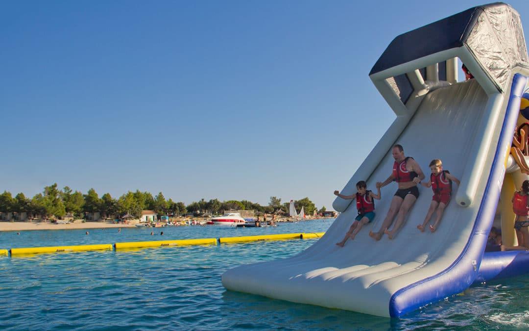 6 Epic Aquaglide Aqua Park Pieces